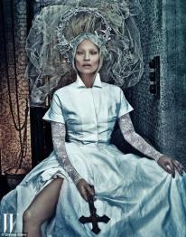 FIGURA 187 - Fotografia com Kate Moss (Steven Klein, 2012)