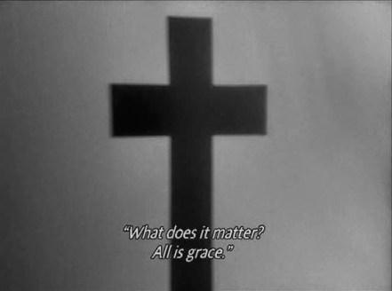 "FIGURA 44 - Still do filme ""Journal d'un curé de campagne"", de Robert Bresson (1951)"