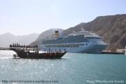 Costa Favolosa - Oman - Port de Khasab