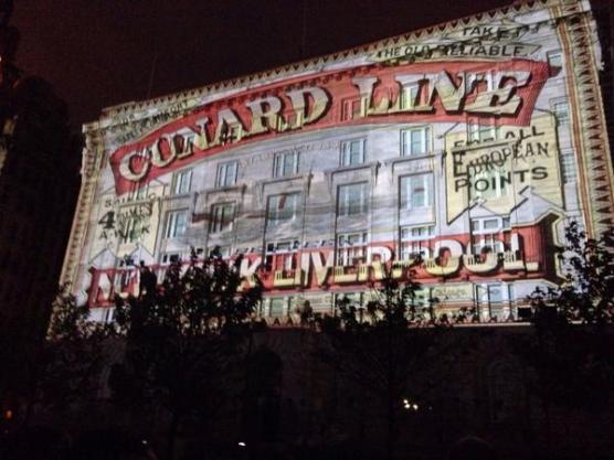 3 Queens - Liverpool - son et lumière