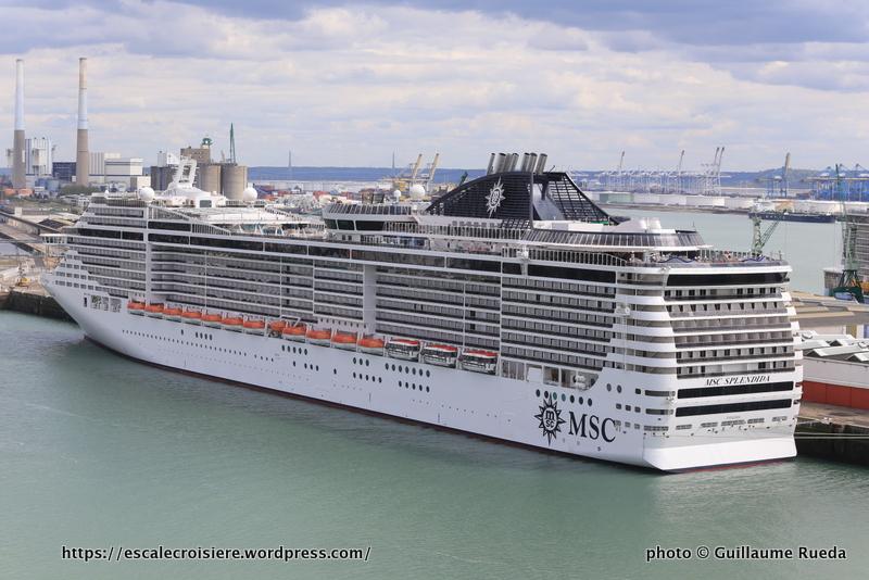 Msc croisi res 151 d parts de france en 2017 blog escale croisi re - Port embarquement croisiere marseille ...
