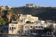 Patmos - Skala et le monastère de St Jean