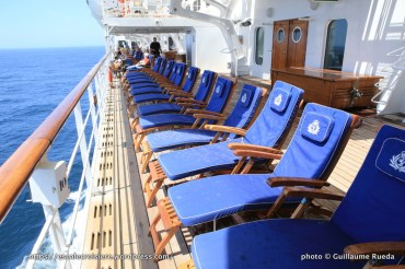 Queen Mary 2 - Ponts