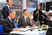 2016-02-01 MSC Meraviglia - Saint Nazaire - pièce et signature de contrat (2)