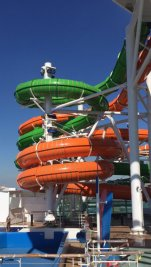Liberty of the Seas - toboggans Perfect Storm - Nick Weir 1