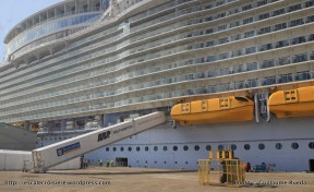 Harmony of the Seas - Embarquement à bord