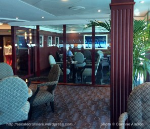 Sirena - Oceania - Horizon Lounge - Smoking Area