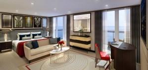 Queen Mary 2 - Queens Grill Suite - 2016