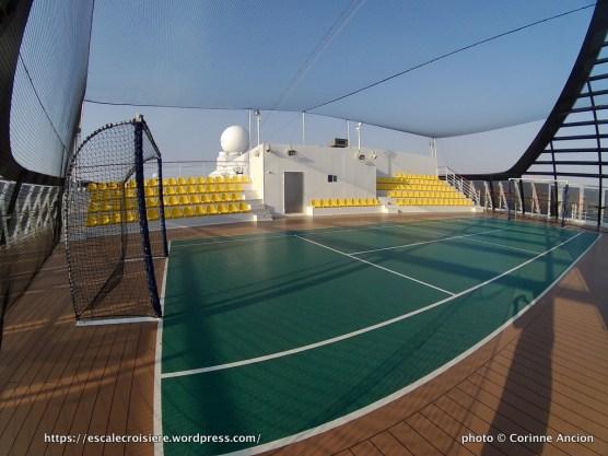 MSC Fantasia - MSC Arena - terrain multisport