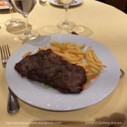 MSC Fantasia - restaurant - Paillard de boeuf