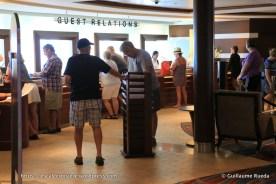 Celebrity Equinox - Guest relation - Bureau information