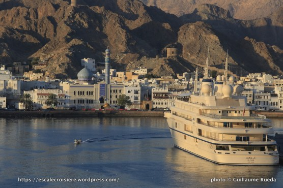 Escale à Mascate - Sultanat d'Oman - Yacht du Sultan