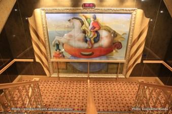 Costa Magica - Art - Déco escaliers