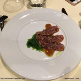 MSC Meraviglia - Menu - Repas de gala