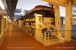 MSC Splendida - Ponts promenade