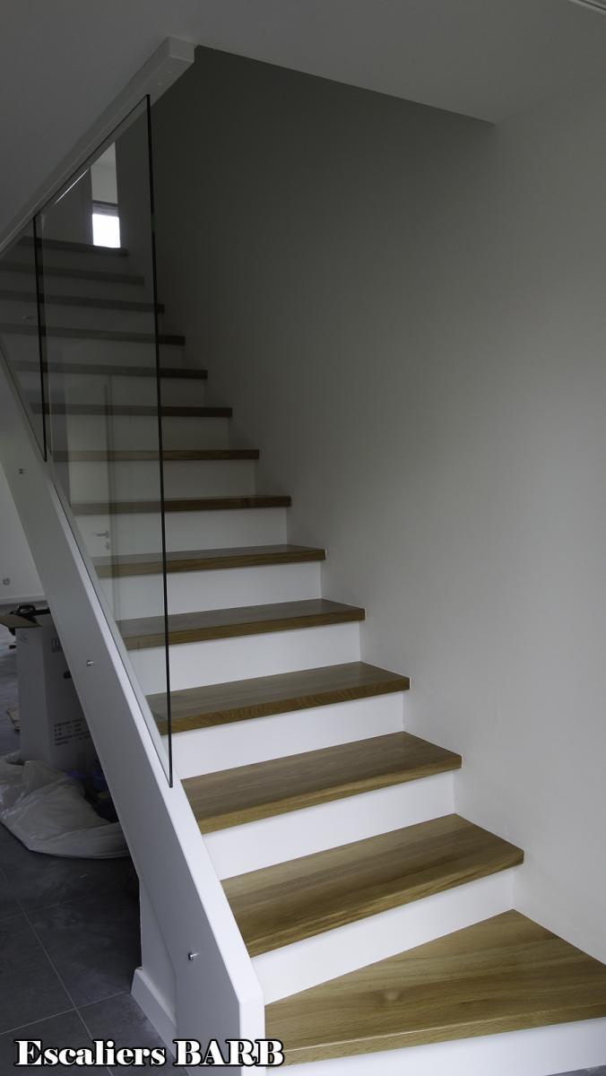 Habillage Escalier Beton En Bois Massif Ou Escalier Ancien