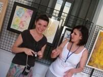 Sorrisi tra i corridoi, Iolanda La Carrubba e Monia Guredda