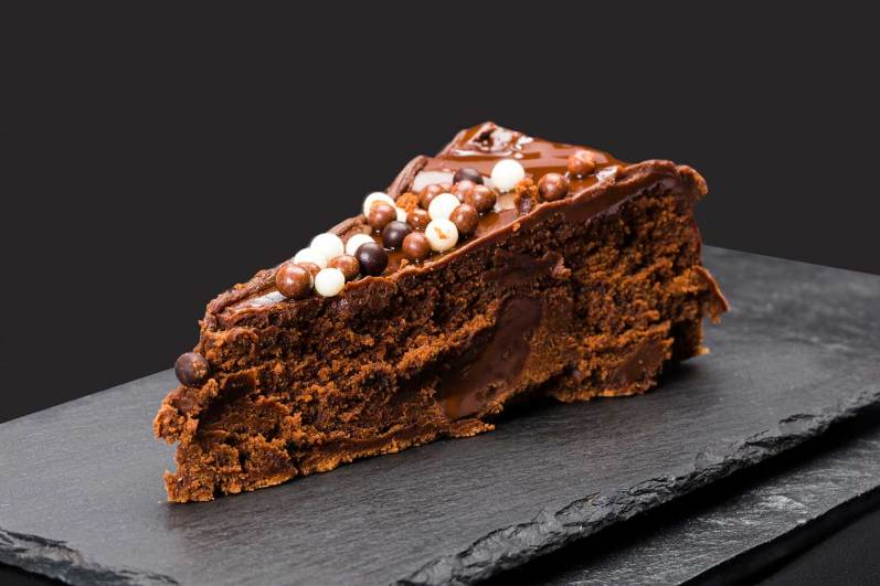 pastel casero de chocolate restaurant es canyis soller