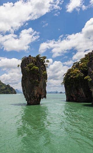 James Bond Island en Khao Phing Kan (Tailandia)