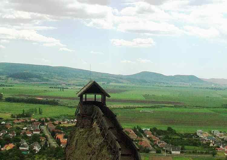 El Castillo Boldogkő en Boldogkőváralja, Hungría