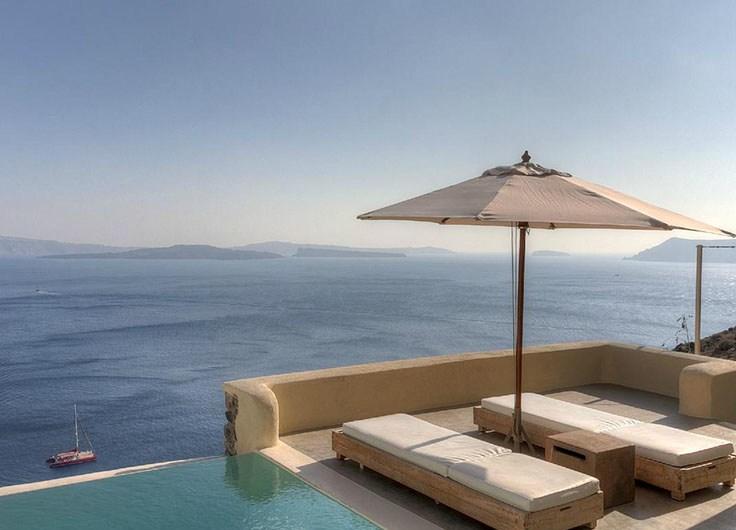 Escapada a uno de los mejores hoteles en Santorini