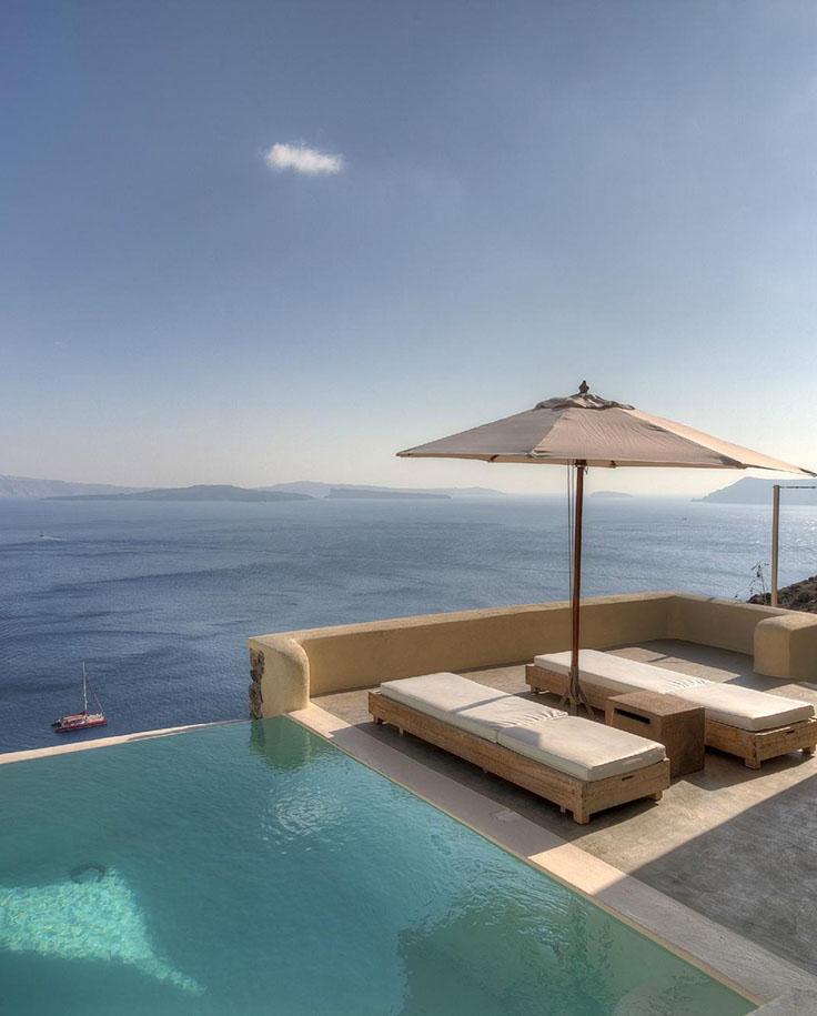 uno de los mejores hoteles en Santorini