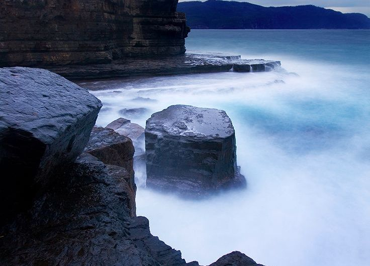 Fossil Island y Fossil Bay. Tasmania