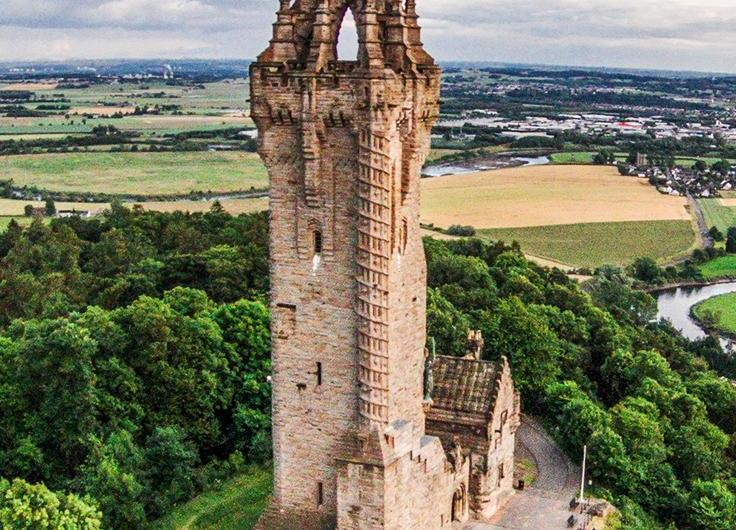Monumento a William Wallace, Escocia