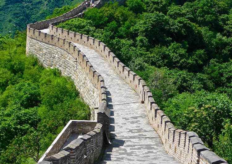 Maravillas del mundo: la Gran Muralla China.