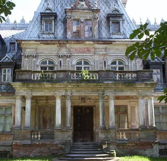 El palacio encantado de Overgrown, en Polonia