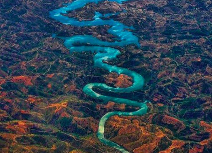 Blue Dragon River: el dragon azul de Portugal.