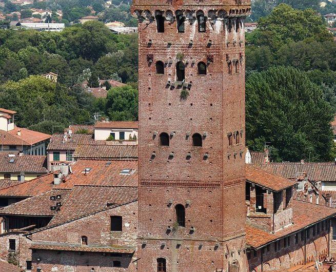 Torre Guinigi: un jardín arbolado en las alturas