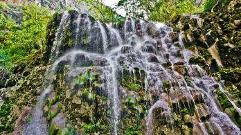 Cascada en las Grutas de Tolantongo
