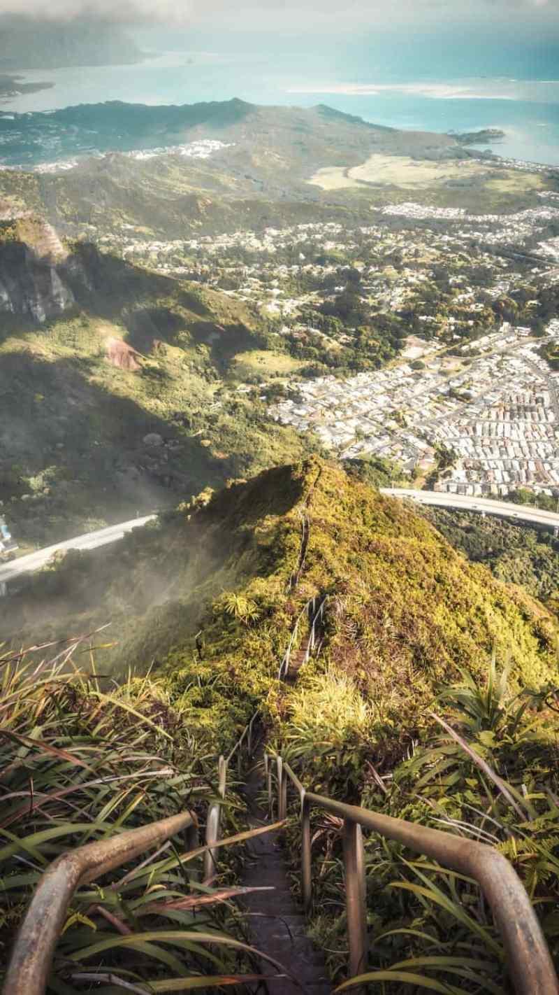 escalera al cielo de hawai