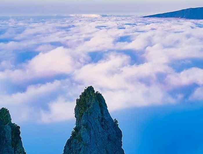 Pito Maido, uno de los picos más altos de isla Reunión
