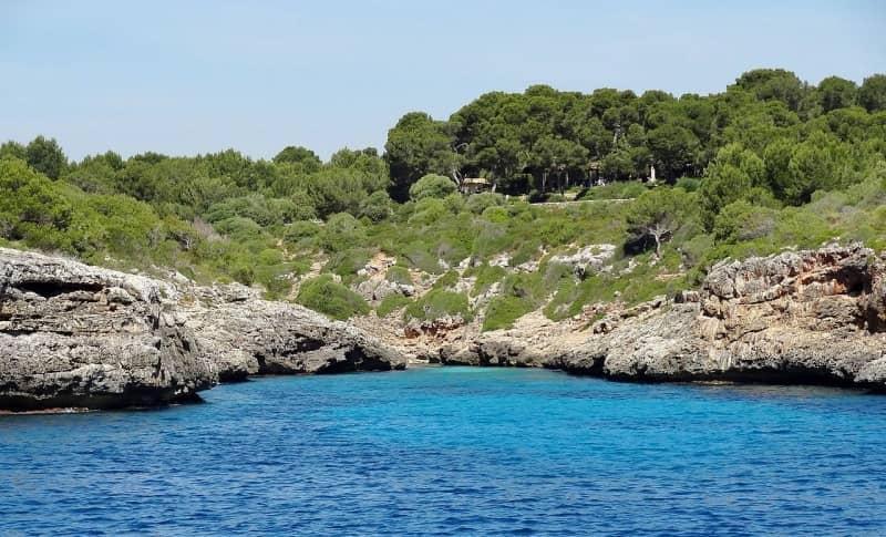 Cala Murta, una playa tranquila en Mallorca