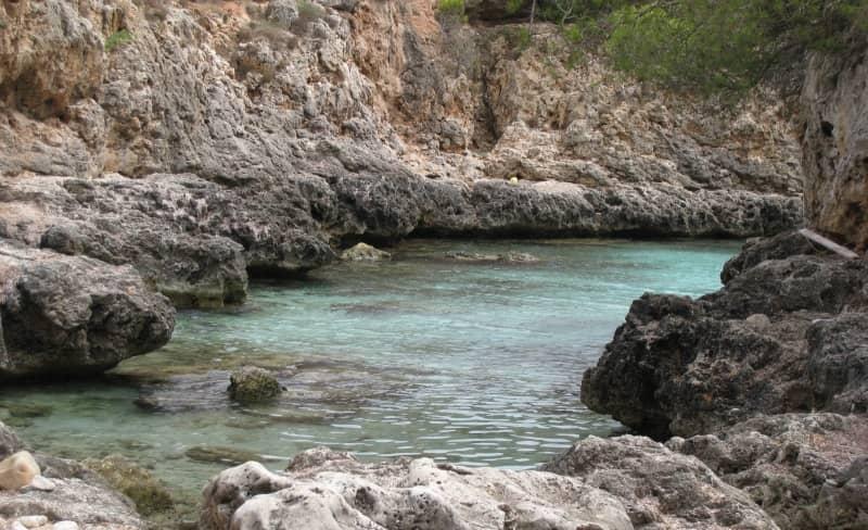 Cala Beltrán en Mallorca