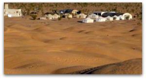 excursion  campement  ksar ghilane sud