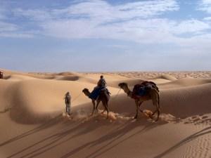randonnee sahara tunisie
