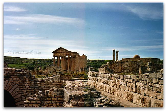 site antique dougga