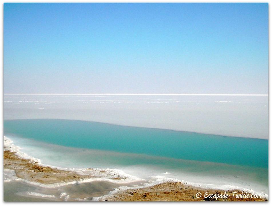 lac salé banquise