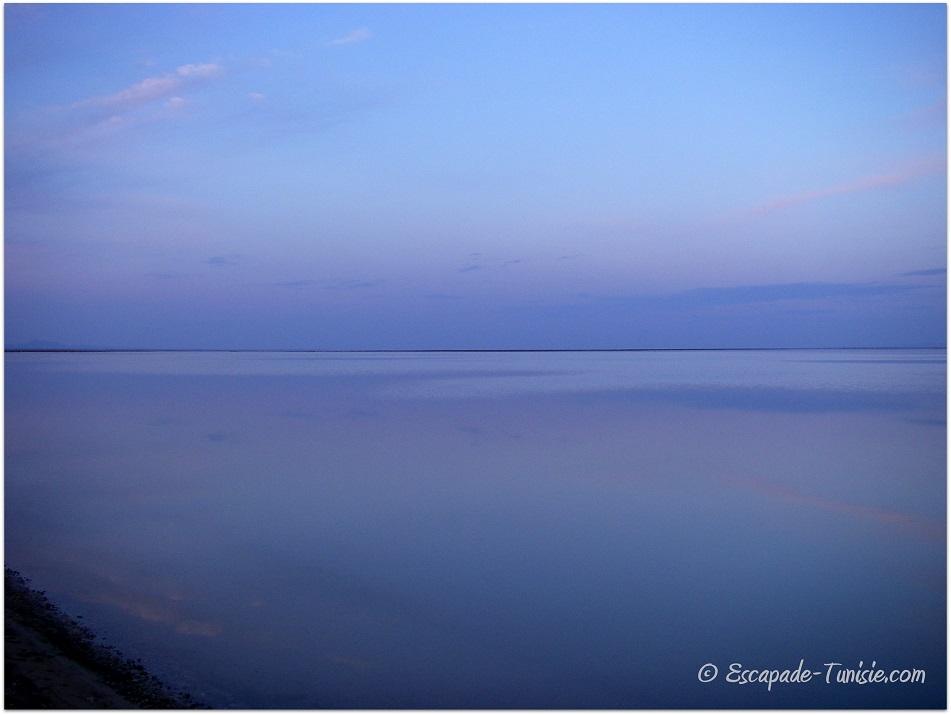 lac salé horizon