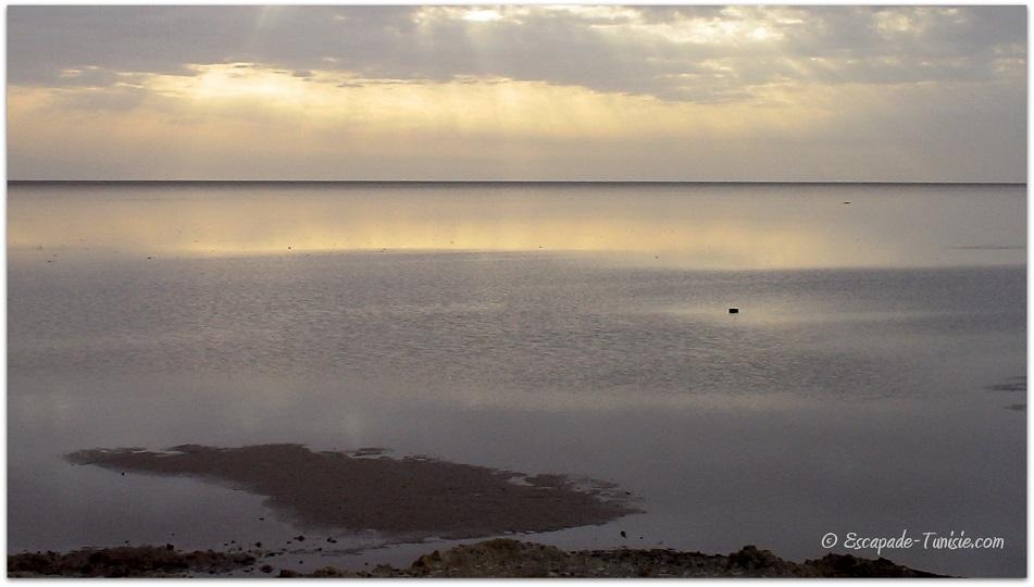 lac salé | escapade tunisie