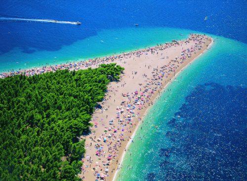 Les plages de Croatie