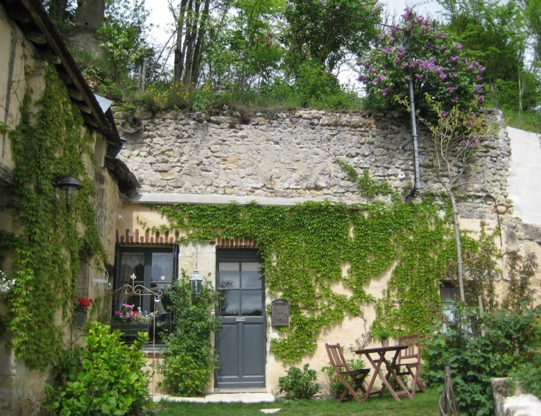 Chambre d'hôte troglodyte à Vouvray