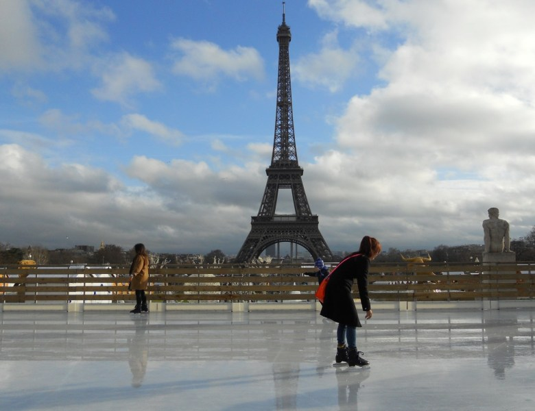 Marché de Noël au Trocadéro