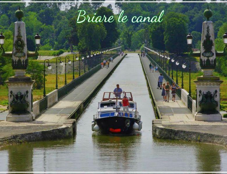 Promenade à Briare le canal