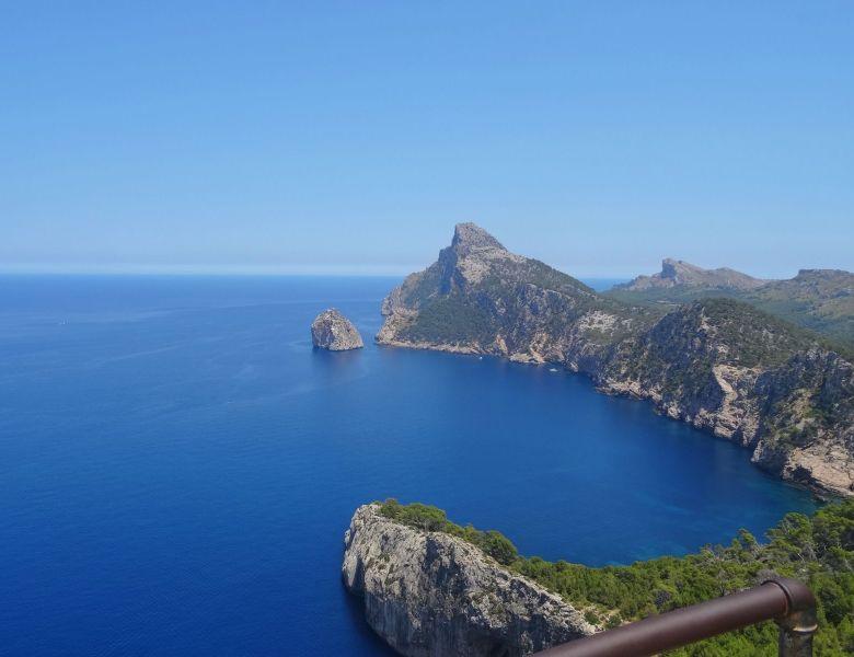 Sur la route du Cap de Formentor sur l'île de Majorque.