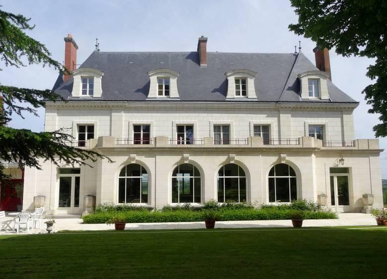 Week-end amoureux dans un château de la Loire.