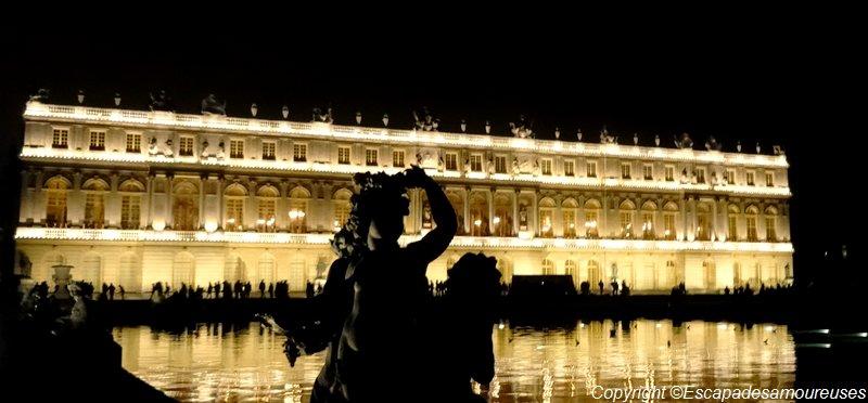 Les Grandes Eaux Nocturnes au Château de Versailles